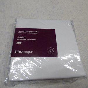 Linenspa Five-Sided Premium Mattress Protector
